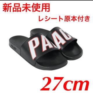 シュプリーム(Supreme)の新品未使用 レシート原本付き palace サンダル 27cm(サンダル)