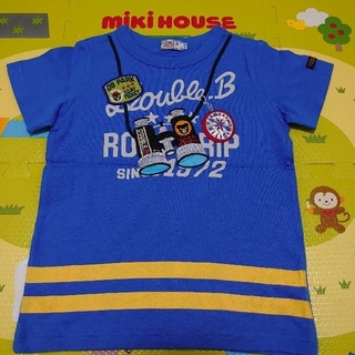 mikihouse - 未着用☆ROAD TRIP Tシャツ☆ダブルビー☆110