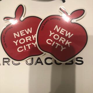 マークジェイコブス(MARC JACOBS)のマークジェイコブス♡りんご ステッカー 2枚(シール)