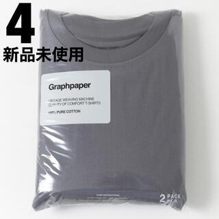 ワンエルディーケーセレクト(1LDK SELECT)のグラフペーパー パックT  グレー  サイズ4  2021ss(Tシャツ/カットソー(半袖/袖なし))