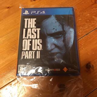 プレイステーション4(PlayStation4)の美品 ラストオブアス2(家庭用ゲームソフト)