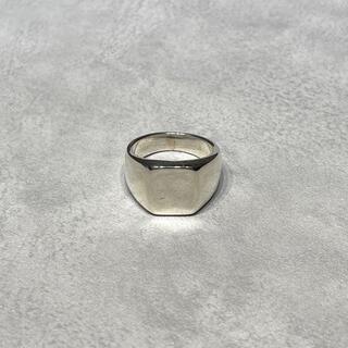 マルタンマルジェラ(Maison Martin Margiela)のvintage SILVER925 シルバー925 シグネットリング 印台(リング(指輪))