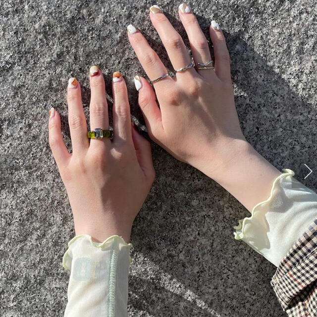 one after another NICE CLAUP(ワンアフターアナザーナイスクラップ)のlattice    リング レディースのアクセサリー(リング(指輪))の商品写真