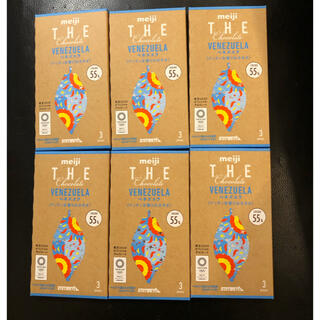 メイジ(明治)の明治 THE chocolate ベネズエラ 6箱(菓子/デザート)