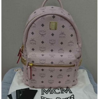 エムシーエム(MCM)のmcm リュック ピンク Sサイズ(リュック/バックパック)