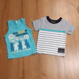 ニシマツヤ(西松屋)の90サイズ Tシャツ タンクトップ(Tシャツ/カットソー)