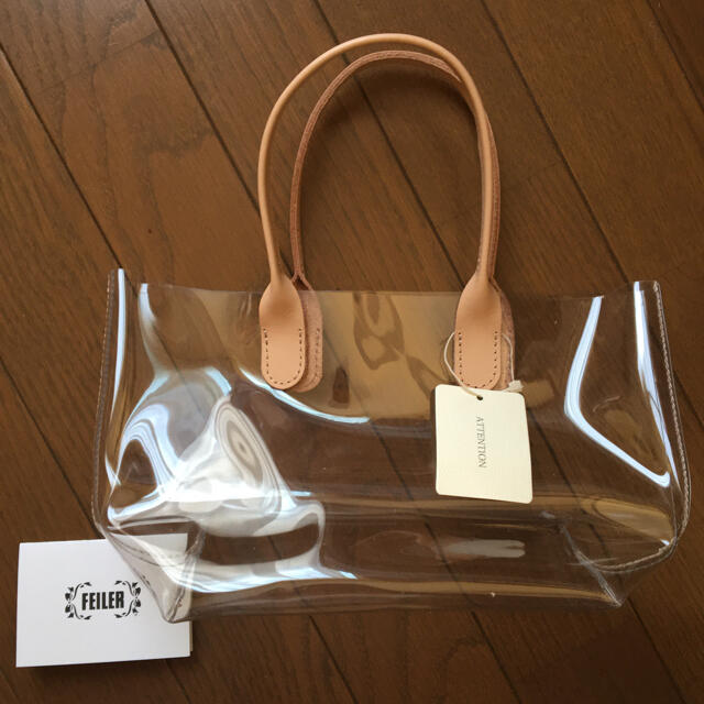 FEILER(フェイラー)のフェイラー 新品 クリアバッグ レディースのバッグ(トートバッグ)の商品写真