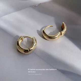 green label relaxing - #822 import pierce : catchless hoop gold