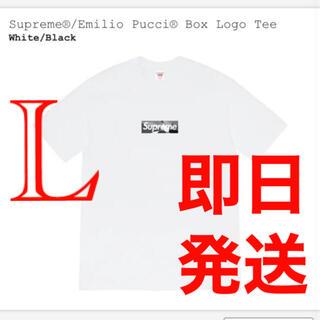 Supreme - Supreme / Emilio Pucci® Box Logo Tee L