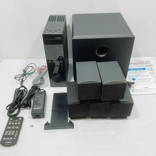 ヤマハ(ヤマハ)のYAMAHA 5.1chホームシアターシステム ブラック TSS-20B(スピーカー)