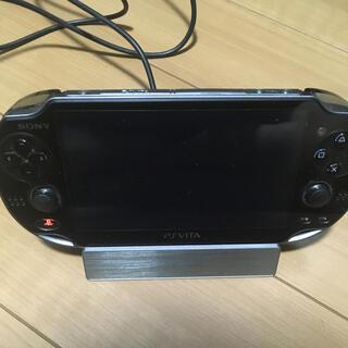 プレイステーションヴィータ(PlayStation Vita)のPlayStation Vitaクレードル(携帯用ゲーム機本体)