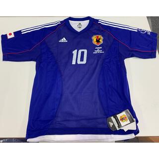 アディダス(adidas)のFIFA WORLD CUP 2002 オーセンティック ユニフォーム 中山選手(応援グッズ)