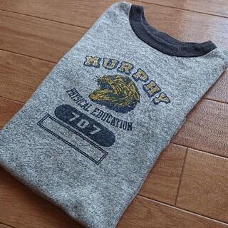 WAREHOUSE - 【 希少価値有り・WAREHOUSE 】染み込み5段プリント リンガーTシャツ