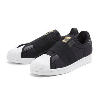 adidas - adidas アディダス スリッポン ブラック 23.5