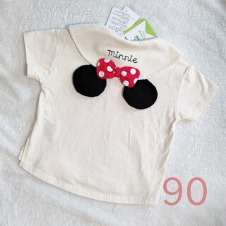 futafuta - フタフタ ミニー 耳付き セーラー Tシャツ 90