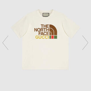 Gucci - 6/19迄GUCCI×THE NORTH FACE オーバーサイズTシャツ 白M