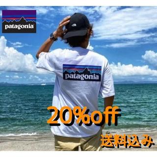 パタゴニア(patagonia)のPatagonia パタゴニア ポケット 6-P ロゴ Tシャツ(Tシャツ/カットソー(半袖/袖なし))