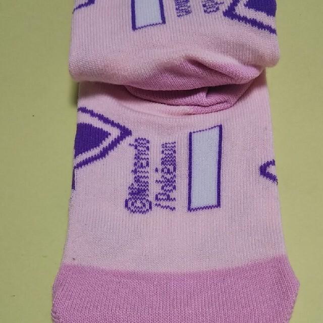 ポケモン(ポケモン)のポケモン 靴下 プリン 16~18 ピンク キッズ/ベビー/マタニティのこども用ファッション小物(靴下/タイツ)の商品写真
