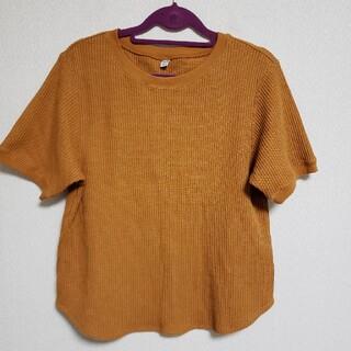 ユニクロ(UNIQLO)のユニクロ ワッフルTシャツ Mサイズ(Tシャツ(長袖/七分))