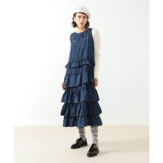 ビームスボーイ(BEAMS BOY)の完売 maturely Denim&Jacquard Western Dress(ひざ丈ワンピース)