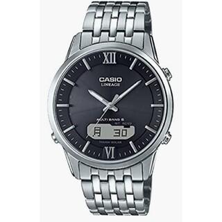 カシオ(CASIO)のCASIO LINEAGE 電波ソーラー サファイアガラス 新品 未使用 正規品(腕時計(アナログ))