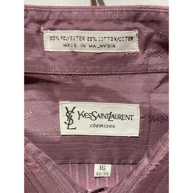 Saint Laurent(サンローラン)のvintage yves saint laurent logo shirt メンズのトップス(シャツ)の商品写真