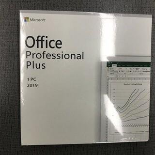 Microsoft - Office 2019 professional plus 日本語版 正規品
