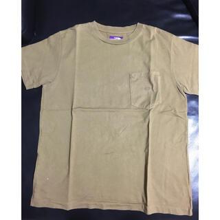 ザノースフェイス(THE NORTH FACE)のTHE NORTH FACE ポケット刺繍Tシャツ メンズ 美品(Tシャツ/カットソー(半袖/袖なし))