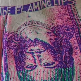サンタモニカ(Santa Monica)の【希少】The Flaming Lips ジーザス Lサイズ バンドT(Tシャツ/カットソー(半袖/袖なし))