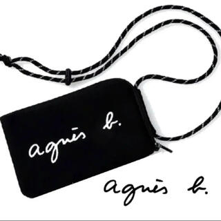 agnes b. - 新品 アニエスベー ショルダーバッグ マルチケース