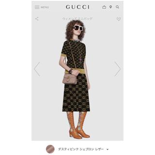 グッチ(Gucci)のGUCCI ミニトップハンドルバッグ マーモント⭐︎新品ホースビット グッチ(ショルダーバッグ)