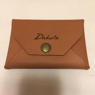 ダコタ(Dakota)のダコタ カードケース/コインケース 本革 新品未使用(コインケース)