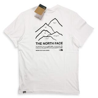 ザノースフェイス(THE NORTH FACE)のノースフェイス『新品正規品タグ付き』海外限定Peaks Tシャツ(Tシャツ/カットソー(半袖/袖なし))