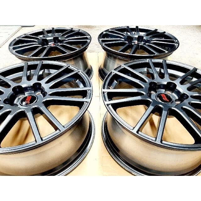 スバル(スバル)の【極上品】スバル WRX STI スペックC 純正 18インチ ホイール 4本 自動車/バイクの自動車(ホイール)の商品写真