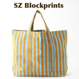 Ron Herman - 【SZ Blockprints】OVERSIZE TOTE BAG イエロー