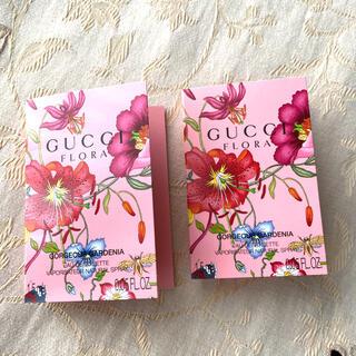 グッチ(Gucci)のGUCCI FLORA グッチフローラ 香水サンプル 1.5ml × 2本(香水(女性用))