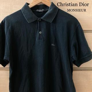 Christian Dior - 【複数割】Christian Dior ディオールムッシュ ポロシャツ 黒 M