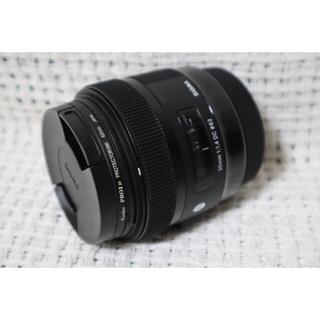 シグマ(SIGMA)のSIGMA 30mm F1.4 DC HSM [CANON用](レンズ(単焦点))