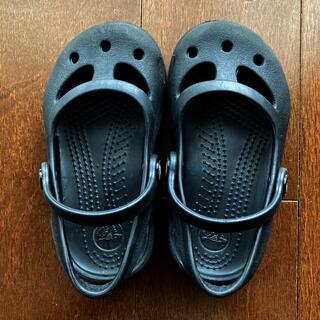 クロックス(crocs)のクロックス C6  黒 サンダル(サンダル)