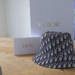 Christian Dior - TEDDY-D ボブハットコットンブレンド