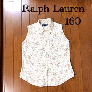 ラルフローレン(Ralph Lauren)のRalph Lauren ラルフローレン トップス 花柄 160(ブラウス)