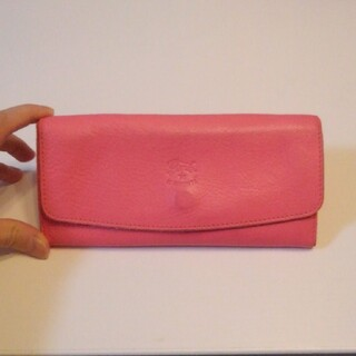 IL BISONTE - 正規品 IL BISONTE ピンク 長財布