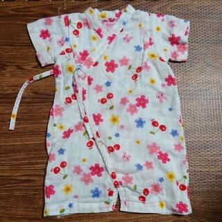 ミキハウス(mikihouse)のミキハウス 浴衣ロンパース 70~80サイズ(甚平/浴衣)