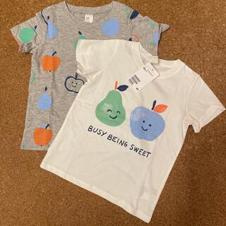 エイチアンドエム(H&M)のH&M 新品 Tシャツ 2枚セット サイズ100(Tシャツ/カットソー)