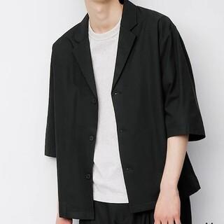 ジーユー(GU)のGUシャツジャケット(シャツ)
