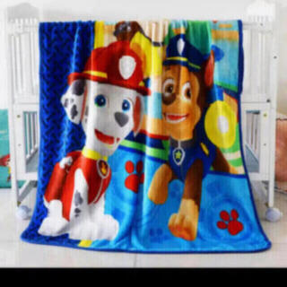 パウパトロール毛布