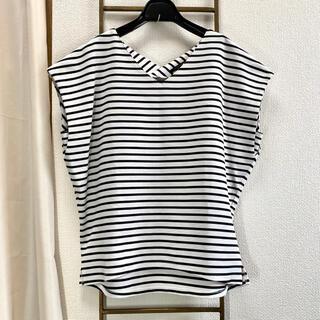 バンヤードストーム(BARNYARDSTORM)のBARNYARDSTORM ボーダートップス(シャツ/ブラウス(半袖/袖なし))