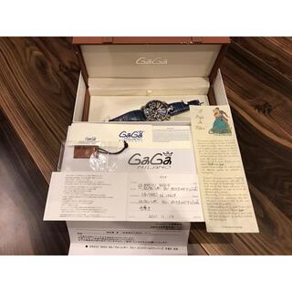 GaGa MILANO - GAGA MILANOガガミラノマニュアーレ48MM腕時計 手巻き SS ブルー