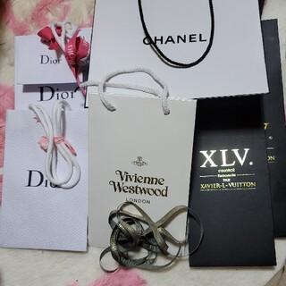 ディオール(Dior)のCHANEL、ヴィトン、Dior、ヴィヴィアンのショッパー(ショップ袋)