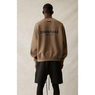 フィアオブゴッド(FEAR OF GOD)のXSサイズ FOG ESSENTIALS ロゴスウェットシャツ 21SS(スウェット)